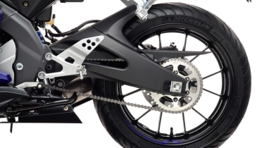 Yamaha YZF-R125 rear wheel
