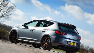 SEAT Leon Cupra R - rear static