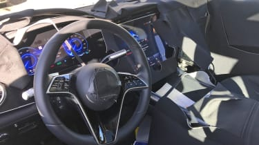 Mercedes EQS SUV - interior