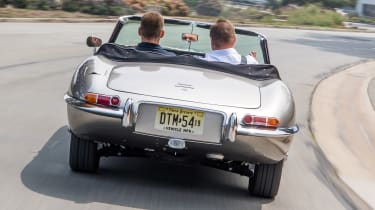 Jaguar E-Type Zero - full rear
