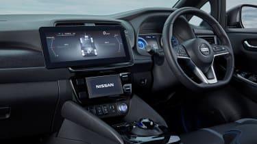 Nissan Leaf 4x4 e-4ORCE - interior