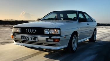 Audi Quattro old front