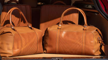 Aston Martin DBX - luggage in boot
