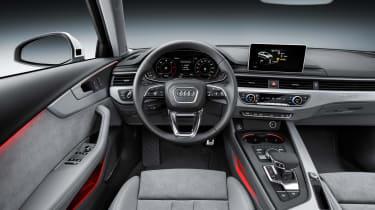 2016 Audi A4 Allroad - dashboard