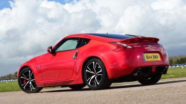Nissan 370Z - rear static
