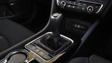 Kia Optima - centre console