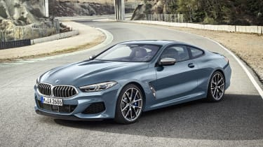 BMW 8 Series - front static