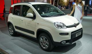 Fiat Panda 4x4 front tracking