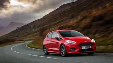 New Ford Fiesta ST-Line - front cornering