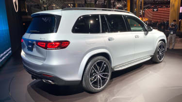 Mercedes GLS - New York rear