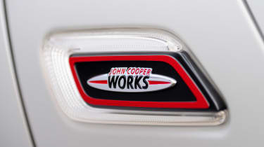 MINI Clubman JCW - side JCW badge