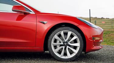 Tesla Model 3 - front profile