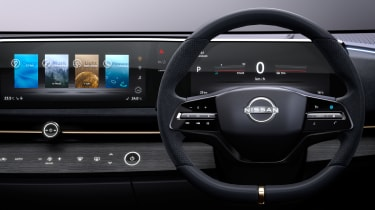 Nissan Ariya concept studio dash