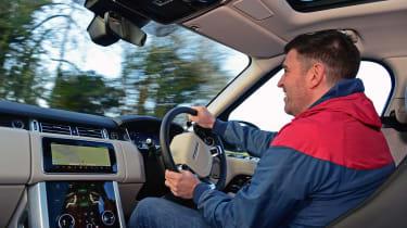 Range Rover P400 - interior