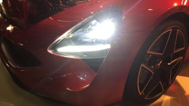 TVR Griffith reveal - front light