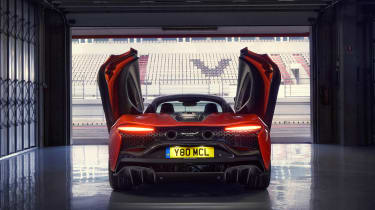 McLaren Artura - rear doors open