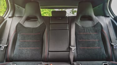 Mercedes A-Class - full rear seats