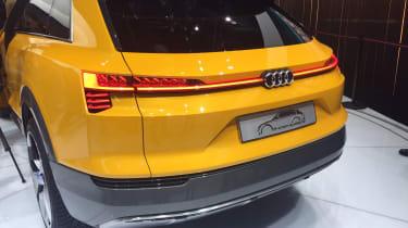 Audi h-tron concept - rear three quarter