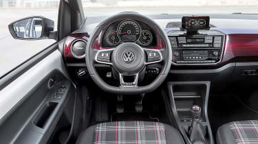 Volkswagen up! GTI - dash