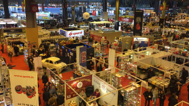 Retromobile 2017 - floor space
