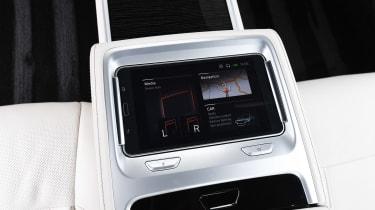 BMW 7 Series - rear tablet
