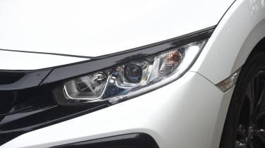 Honda Civic long-term review - Civic headlight