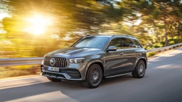 Mercedes-AMG GLE 53 - front tracking