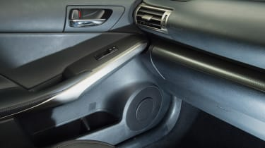 Used Lexus IS - interior detail