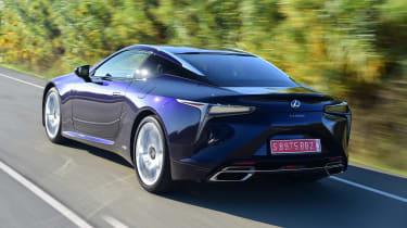 Lexus LC 500h - rear