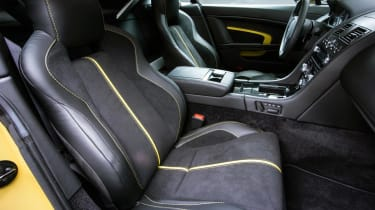 Aston Martin V12 Vantage S 2014 interior