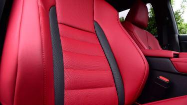 Lexus 450h F Sport - seats