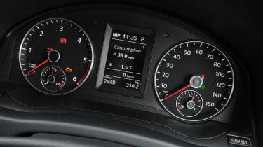 Volkswagen Golf Plus dials