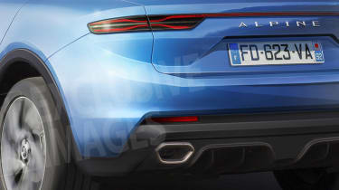 New Alpine SUV exclusive images detail