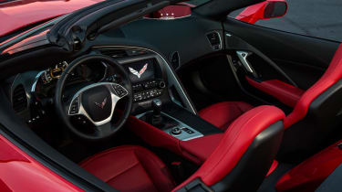 Chevrolet Corvette Stingray Convertible interior