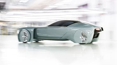Rolls-Royce Vision Next 100 - action