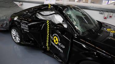 Euro NCAP - black TT side impact