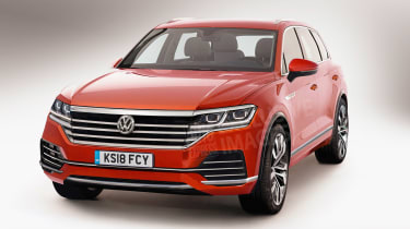 New VW Touareg 2018 exclusive pics