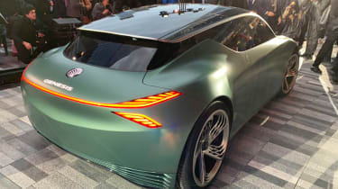 Genesis Mint Concept - New York rear