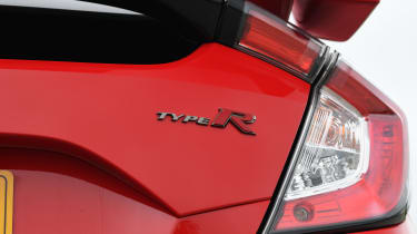 Honda Civic Type R - rear badge