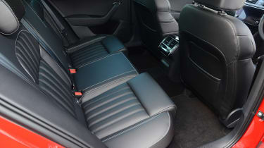 Skoda Superb - rear seats