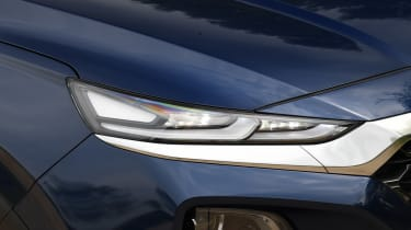 Hyundai Santa Fe - long-term first report front light