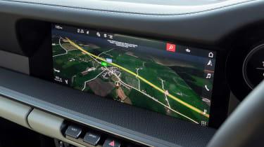 Porsche 911 Carrera - navigation