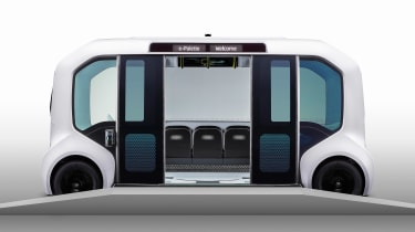 Toyota e-Palette - side doors open