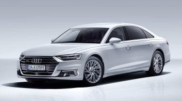 Audi A8L PHEV - front