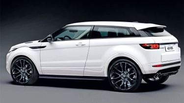 Range Rover Evoque Sport rear three-quarters