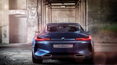 BMW Concept 8 Series - full rear studio