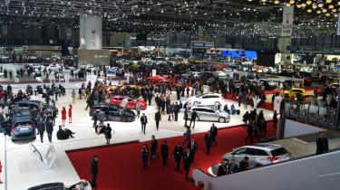 Geneva show floor