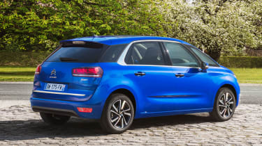 Citroen C4 Picasso 2016 - rear