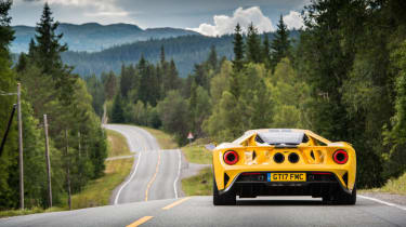Ford GT Norway road trip - exhaust