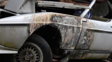 Fire damage car